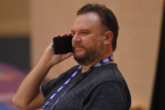 Houston Rockets owner Tilman Fertitta says team GM Daryl Morey's job is 'safe'