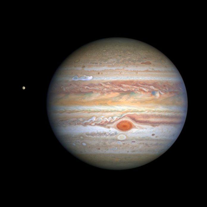 Jupiter and Europa 2020