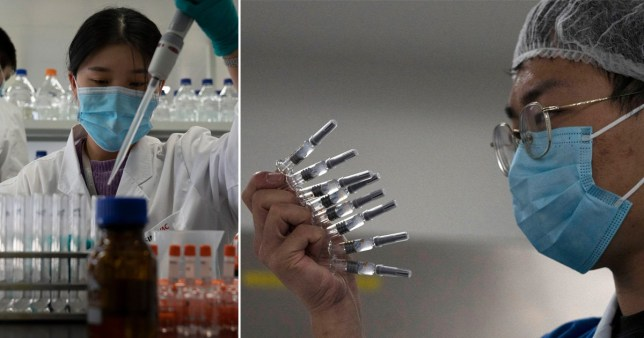 Hundreds of thousands of people in China have been given a Covid-19 vaccine which has been approved for emergency use - despite concerns