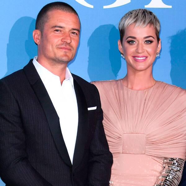 Katy Perry & Orlando Bloom Seen for the First Time Since Daisy's Birth - E! Online