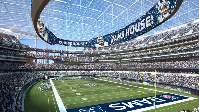 LA Rams ready to play in new SoFi Stadium without fans