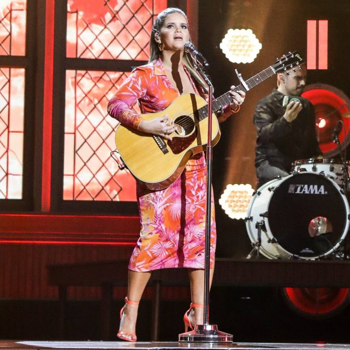 Maren Morris Performs at 2020 ACM Awards 5 Months After Giving Birth - E! Online