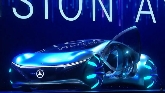 Mercedes' car of the future takes cue from Avatar - Video