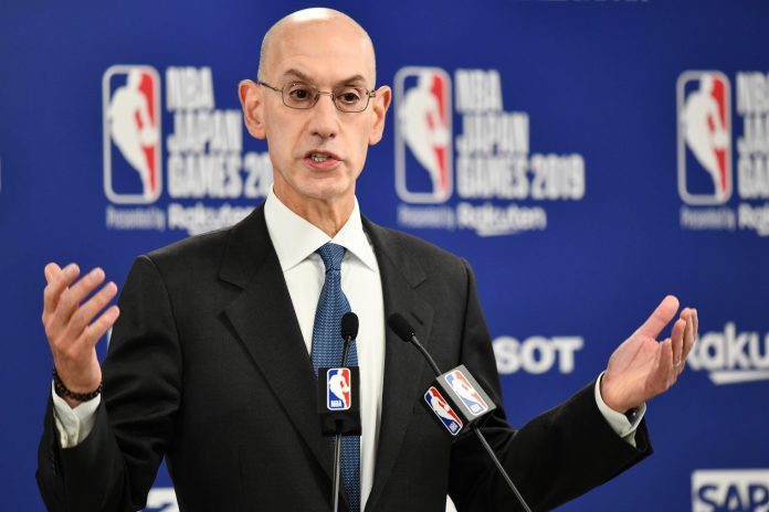 NBA commissioner says league will not start new regular season until 2021