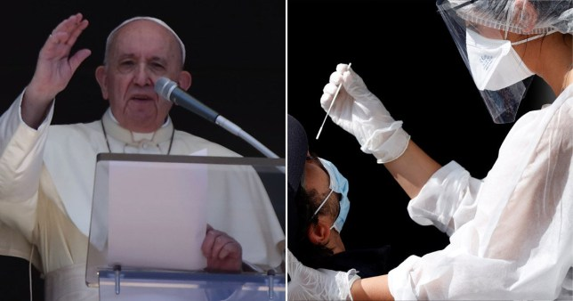 Pope says spreading gossip is worse than coronavirus