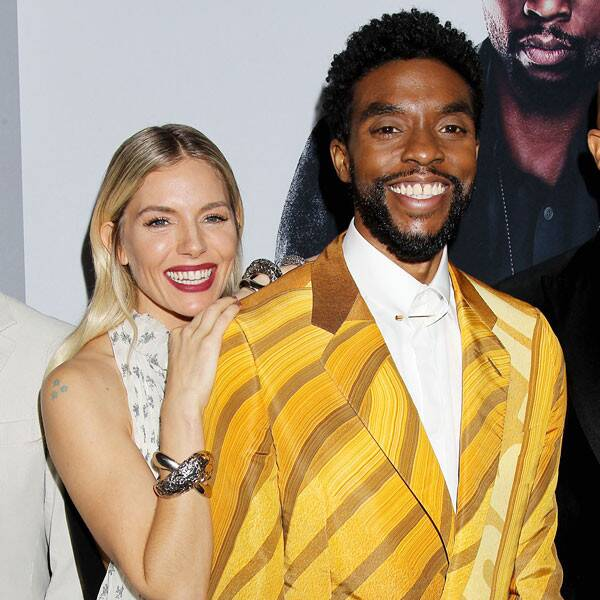 Sienna Miller Says Chadwick Boseman Gave Portion of His Salary to Her - E! Online