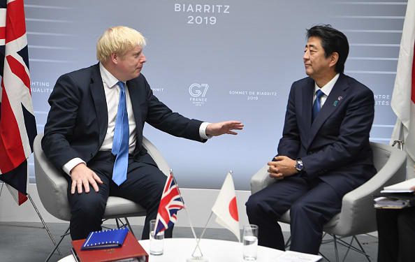 UK and Japan agree on principle to free trade deal