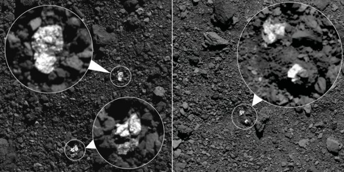 Asteroid Vesta Fragments on Bennu