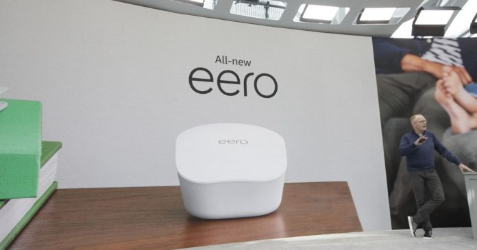 Amazon shows all-new Eero Wi-Fi system - Video