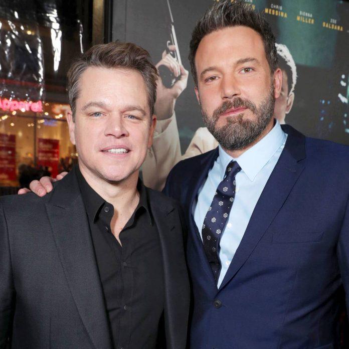 Ben Affleck Debuts Jaw-Dropping New Look in Video With Matt Damon - E! Online