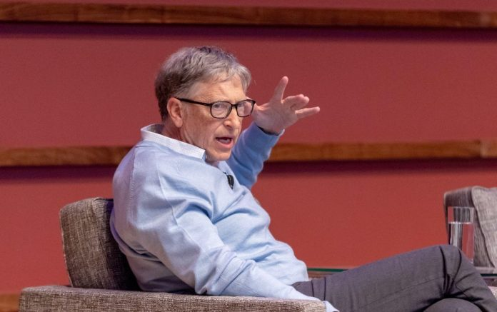 Bill Gates at Stanford AI conference