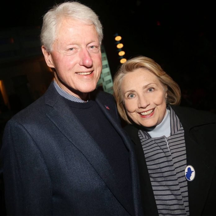 Bill and Hillary Clinton Celebrate Their 45th Wedding Anniversary - E! Online