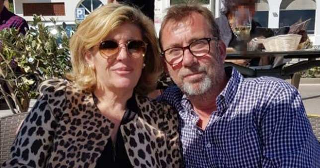 Geoffrey Elton and Gloria Tornay together