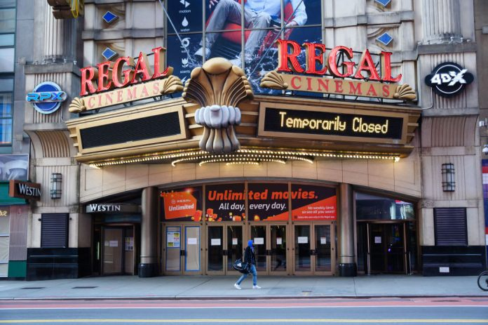 CEO of Regal Cinemas owner on closing movie theaters during pandemic