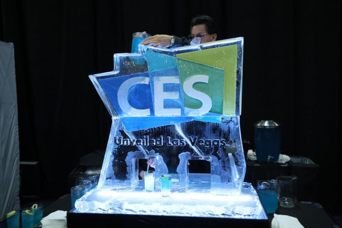 CES 2019 welcome arch