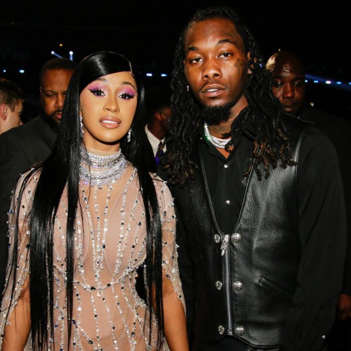 Cardi B Kisses Offset at Lavish Birthday Party One Month After Divorce - E! Online