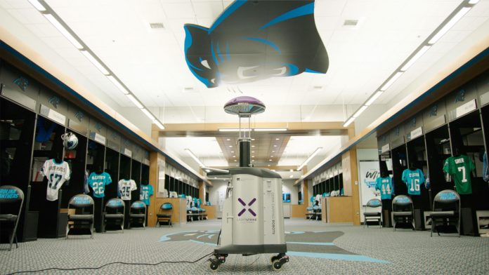 Carolina Panthers to use virus-killing robot in stadium