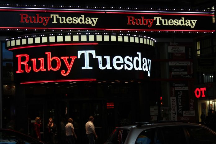 Casual dining chain Ruby Tuesday files for bankruptcy protection
