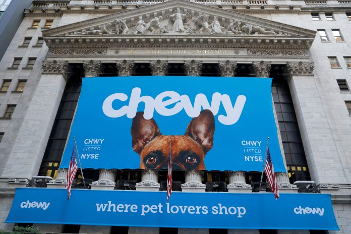 Chewy launches virtual vet visits as pandemic fuels pet boom