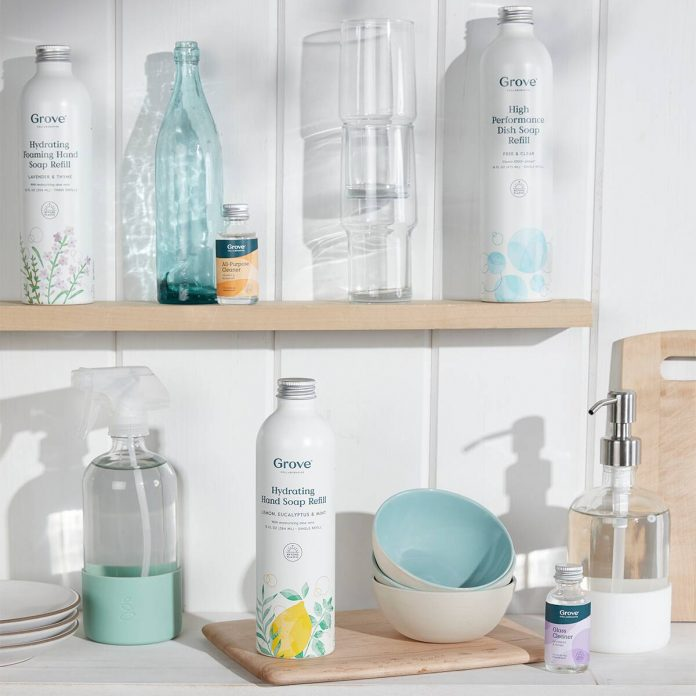 Clean Your Home Before Flu Season With Grove's Sustainable Products - E! Online