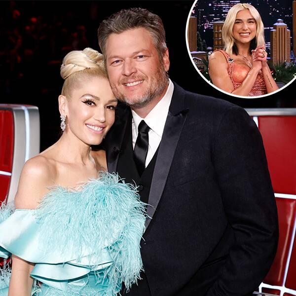 Did Dua Lipa Predict Gwen Stefani and Blake Shelton's Engagement? - E! Online
