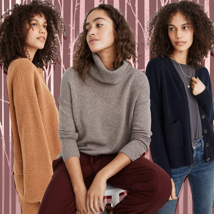 Do Good and Feel Great in Madewell's New Recycled Cashmere - E! Online