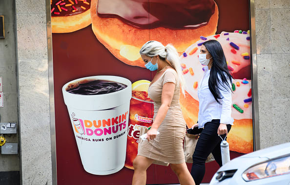 Dunkin' stock soars after chain confirms sale talks with Inspire Brands