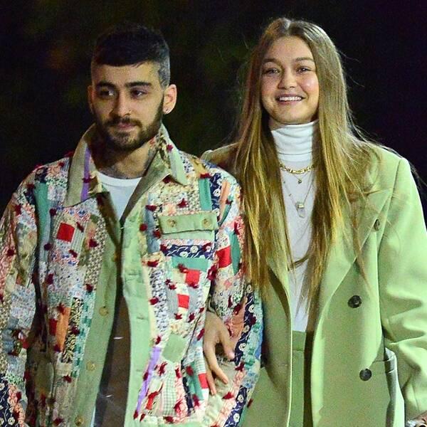 Gigi Hadid and Zayn Malik Have First