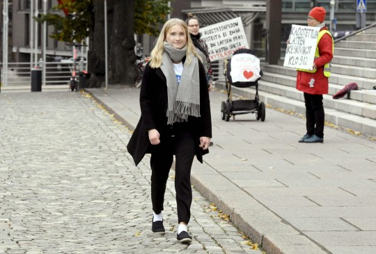 Girl, 16, takes over as prime minister of Finland for the day