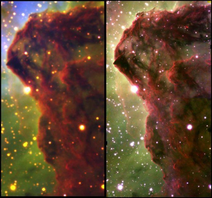Carina Nebula Comparison