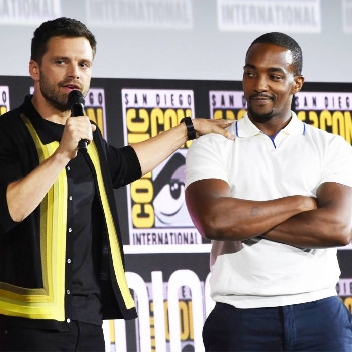 How Anthony Mackie & Sebastian Stan's Marvelous Bromance Really Began - E! Online