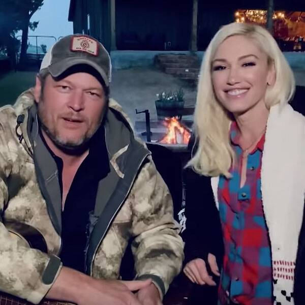 How Gwen Stefani and Blake Shelton Are Thriving in Quarantine - E! Online
