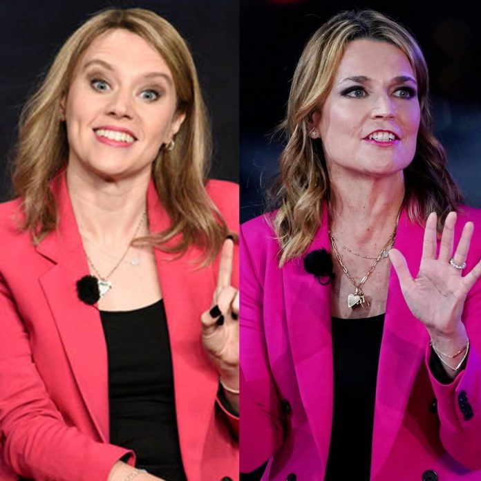 How Savannah Guthrie Helped Perfect Kate McKinnon's SNL Sketch - E! Online