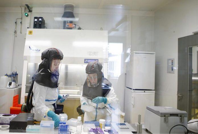 Lab Technicians Rega Institute