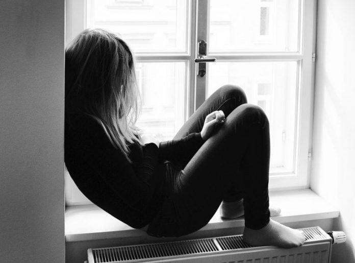 Sad Depressed Teen
