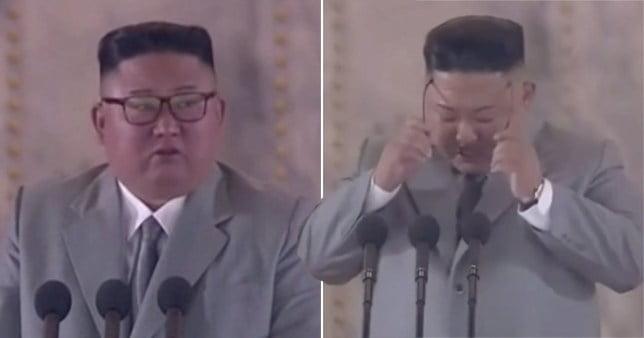 Kim Jong-un sheds tears as he delivers rare apology to North Korea over failings