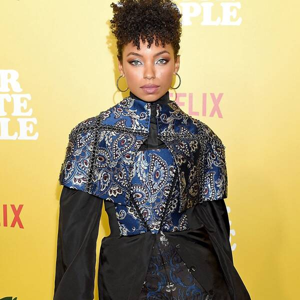 Logan Browning Explains Why Using Her Voice Off-Screen Is Important - E! Online