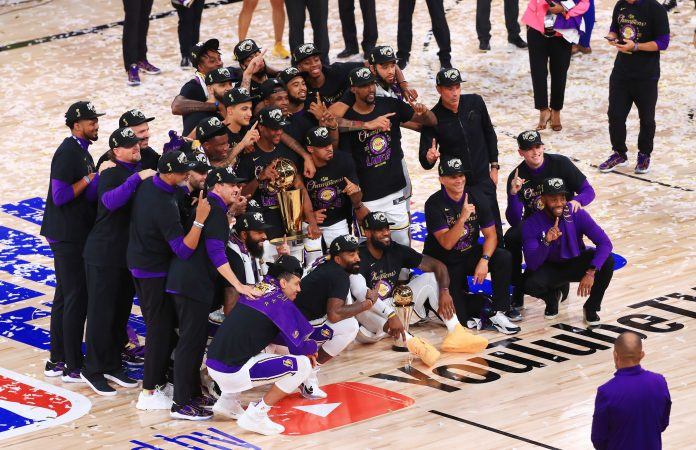 Los Angeles Lakers win NBA title, capping league's coronavirus bubble season