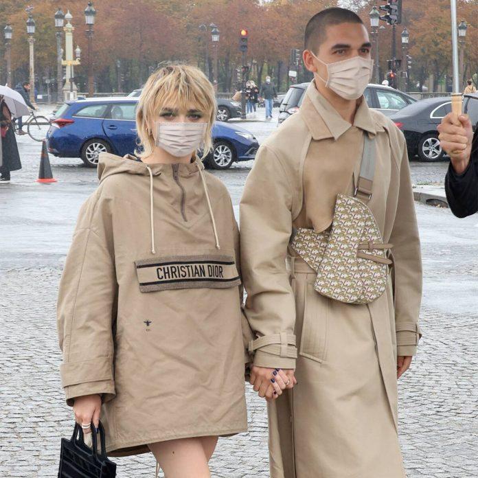Maisie Williams and Boyfriend Reuben Selby Twin at Paris Fashion Week - E! Online
