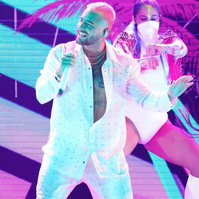 Maluma Receives Spirit of Hope Award at Billboard Latin Music Awards - E! Online