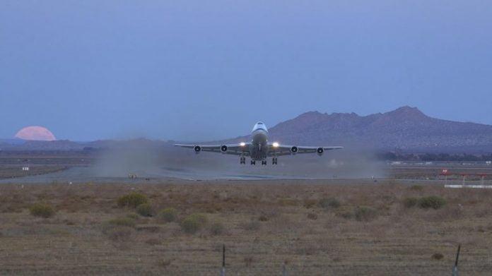 SOFIA Takeoff