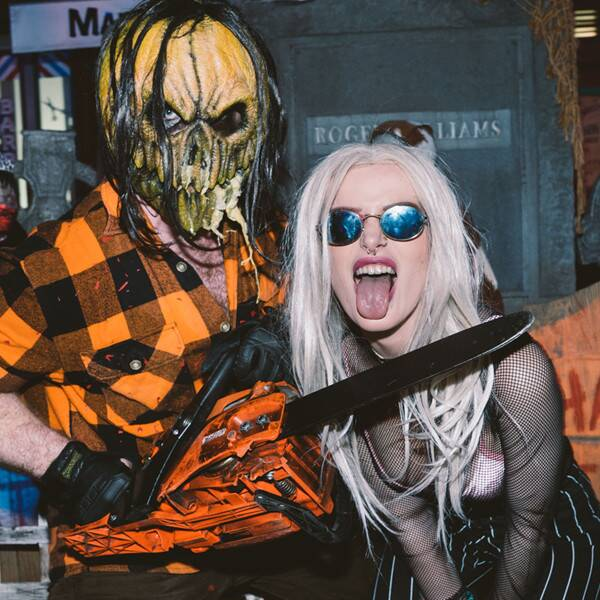 Stars Who Got Their Scare On at Universal's Halloween Horror Nights - E! Online