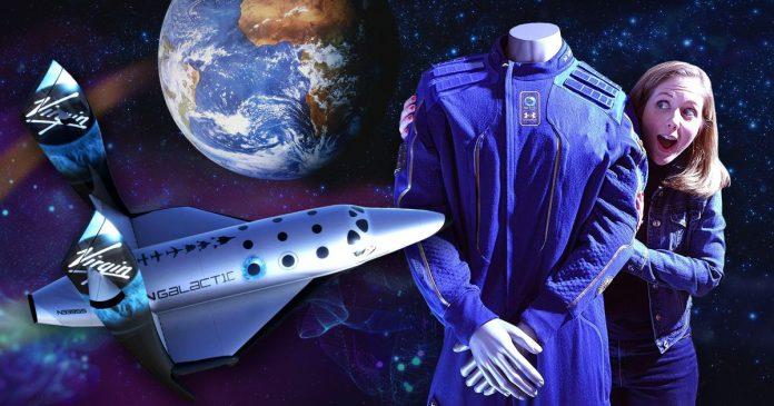 Virgin Galactic spacesuit's hidden features - Video