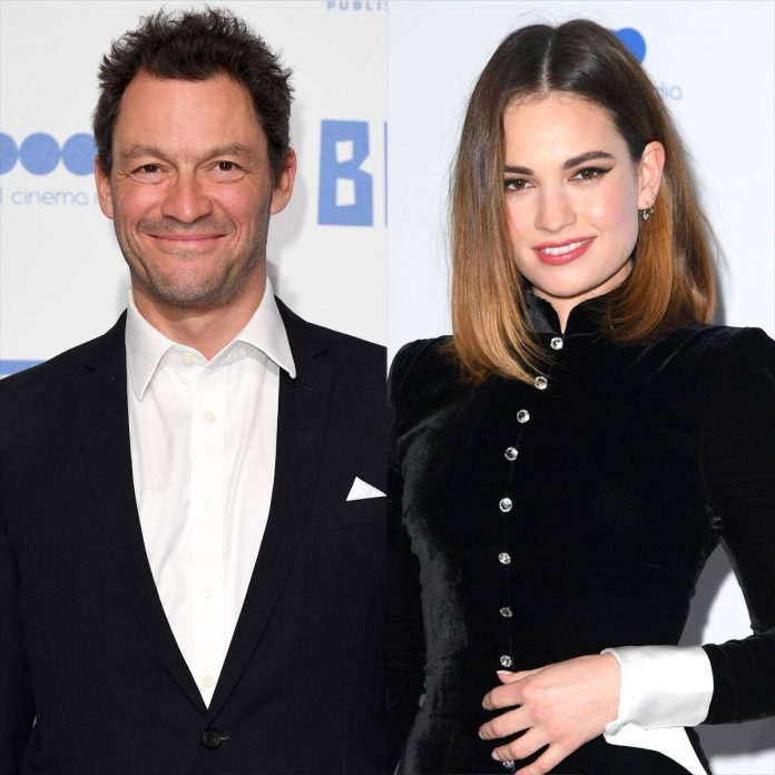 Why Lily James and Dominic West Might Be Fined for Rome Outing - E! Online