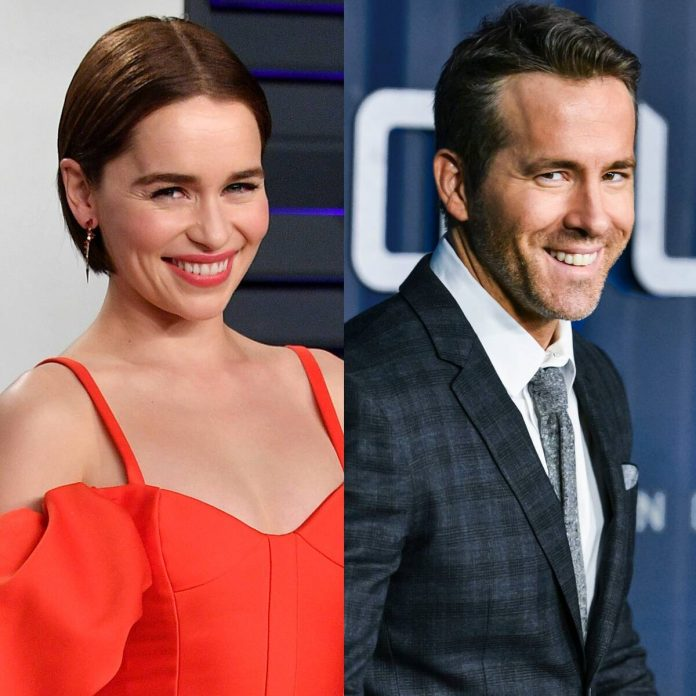 Why Ryan Reynolds Is Moving Emilia Clarke's Birthday This Year - E! Online