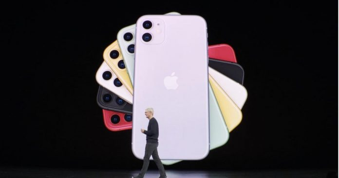 Apple introduces iPhone 11 with ultra-wide camera - Video