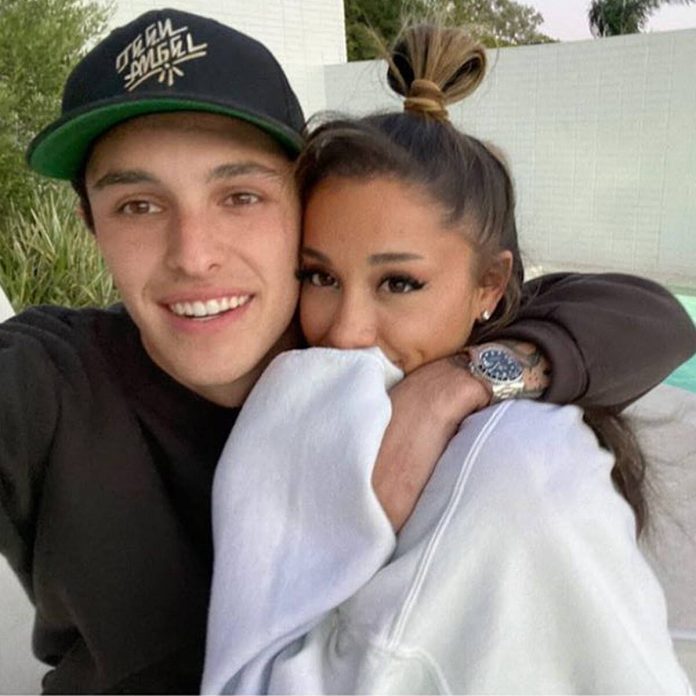 """Ariana Grande Is """"Madly in Love"""" With Dalton Gomez - E! Online"""
