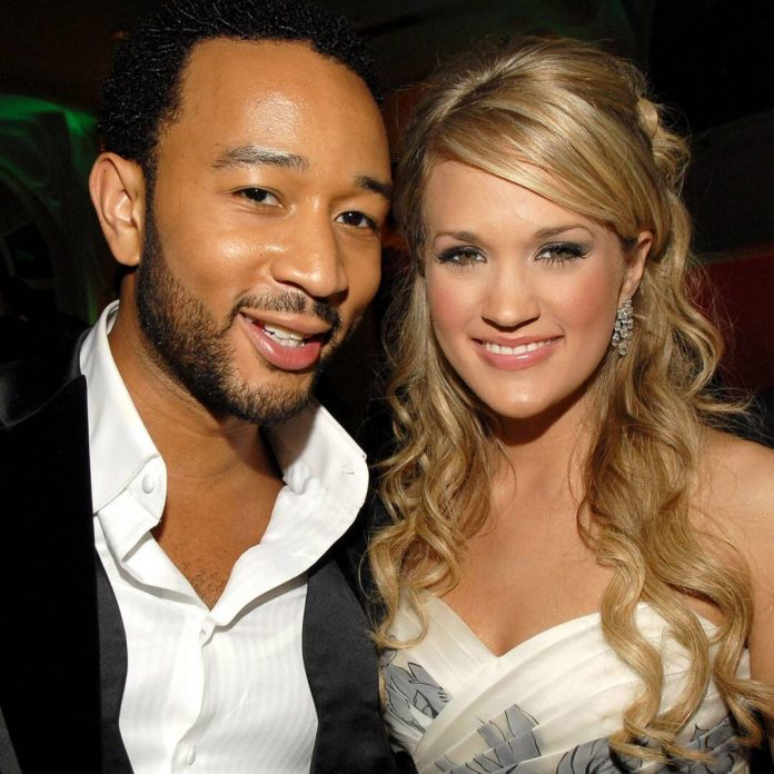 Carrie Underwood and John Legend Team Up for Christmas Music Video - E! Online
