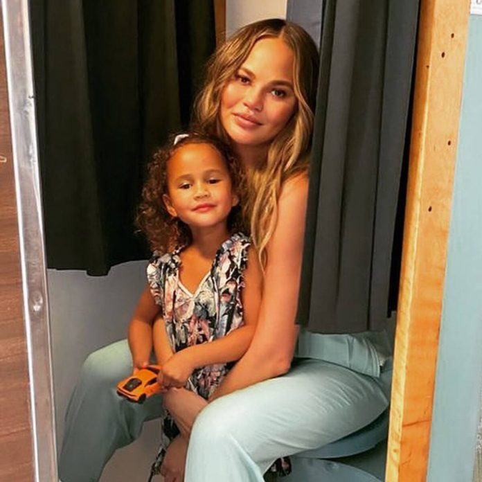 Chrissy Teigen Shares Video of