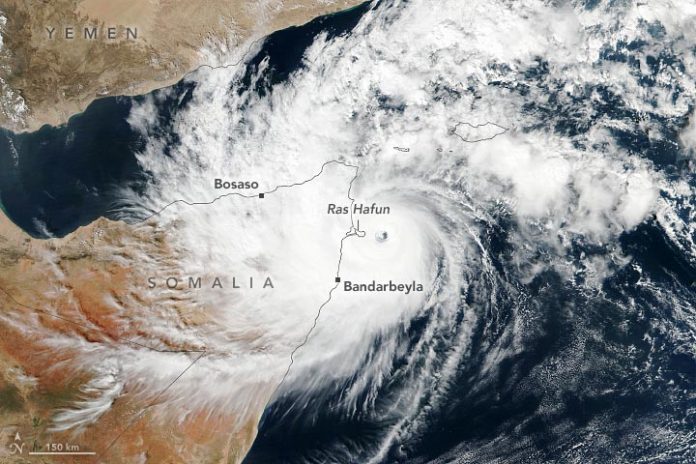 Cyclone Gati Somalia Annotated